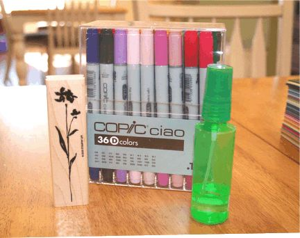 A Day in the Life: Copic Markers...Watercolour with Copics & Alcohol.