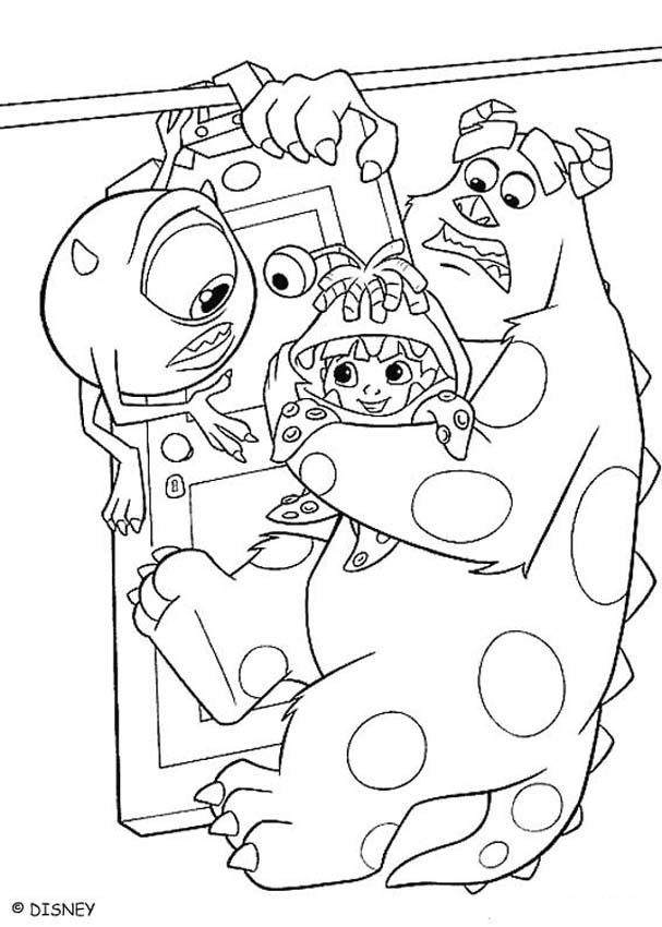 170 best Coloring pages - Monsters images on Pinterest | Bedrooms ...