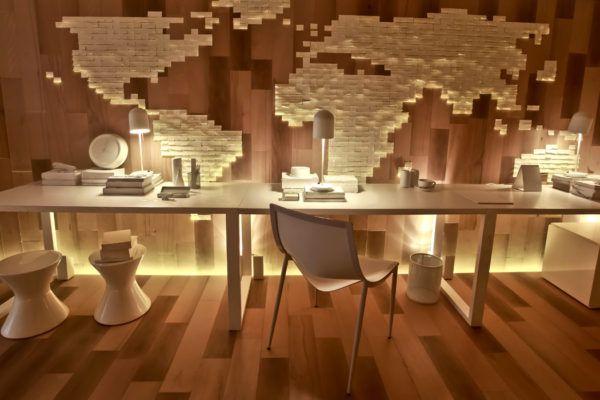 mapa mundi diferente parede madeira mostra black