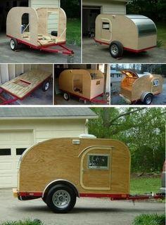 Золотая лихорадка: Как самому сделать настоящий прицеп-трейлер или дом на колесах для автопутешествий - наглядные пошаговые фото и чертежи