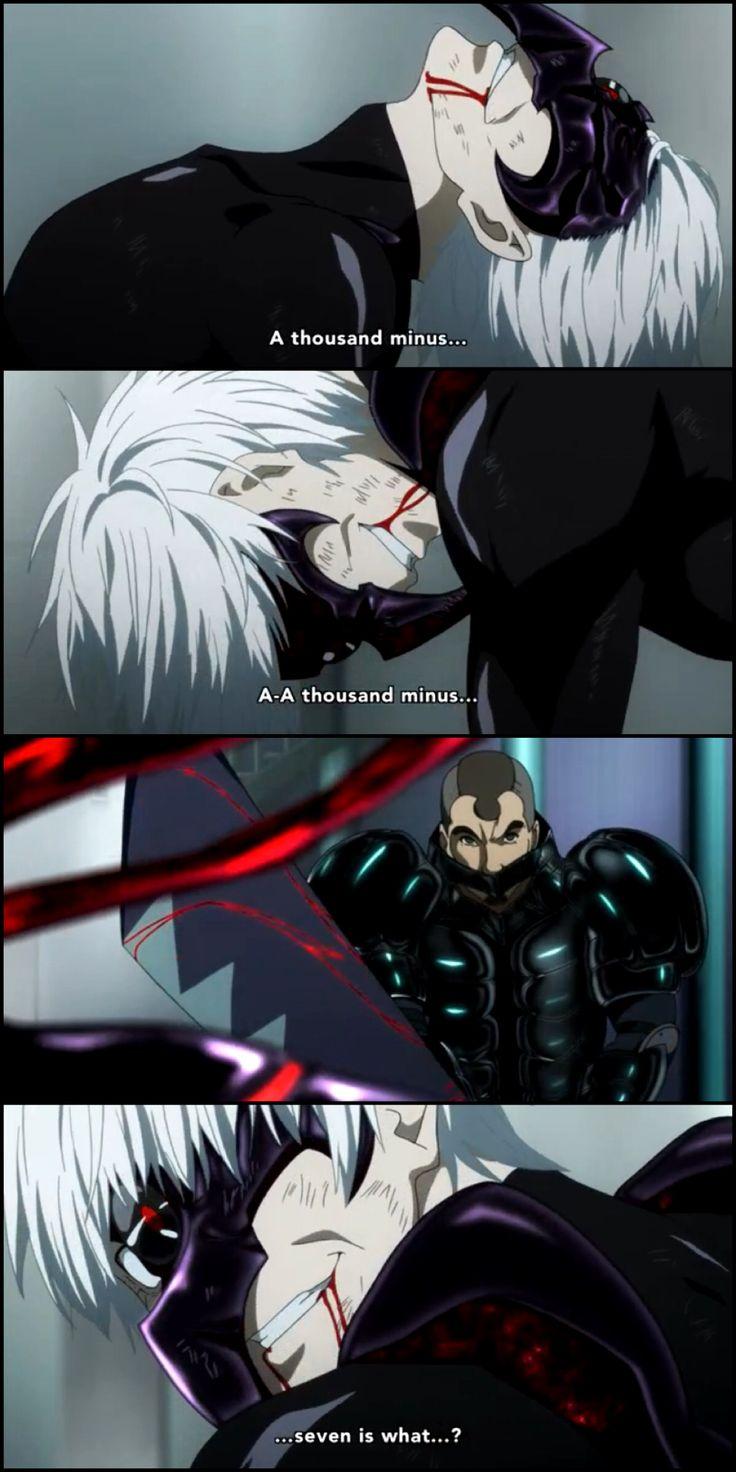 Tokyo Ghoul: RA episode 5 - Kaneki vs Shinohara -