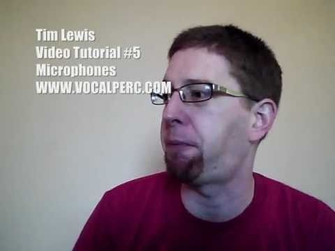 A video tutorial on my website WWW.VOCALPERC.COM on choosing microphones for vocal percussionists.