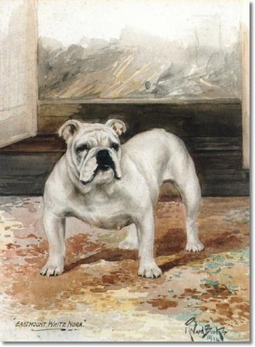 """Reuben Ward Binks, """"Eastmont White Nora"""""""
