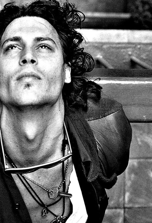 Now this is what ART looks like... Johnny Depp!