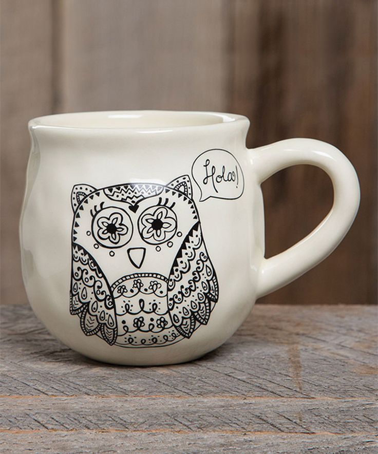 Take a look at this Happy Owl Mug today!