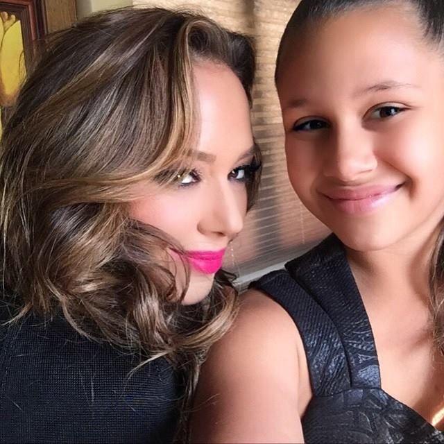 ♥♥♥Leah Remini and her mini me daughter Sofia ♥♥♥