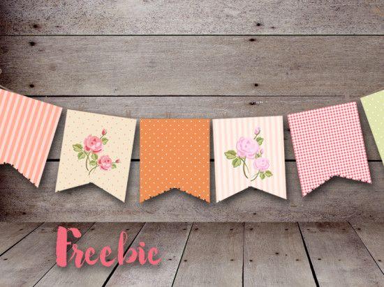 free shabby chic banner