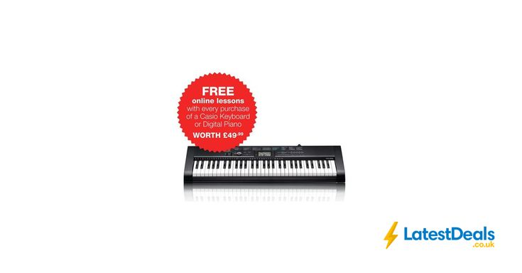 Casio Full Size Starter Keyboard, £69.99 at Argos