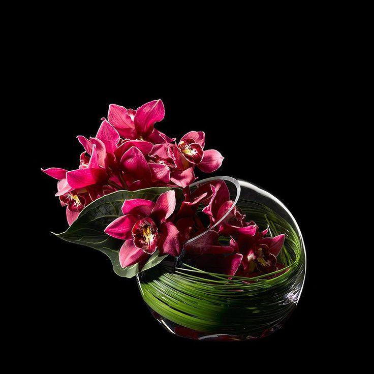 VIDA Foldaway Tote - Wild Things /Zita orchids by VIDA 01qigqf