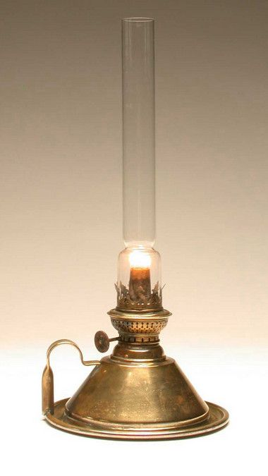 Oil Lamp, Victorian, Original | Object Lessons - Houses & Homes: Victorians
