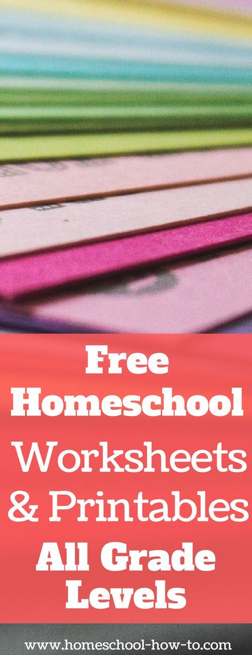 25 Best Ideas about Homeschool Worksheets on Pinterest  Free