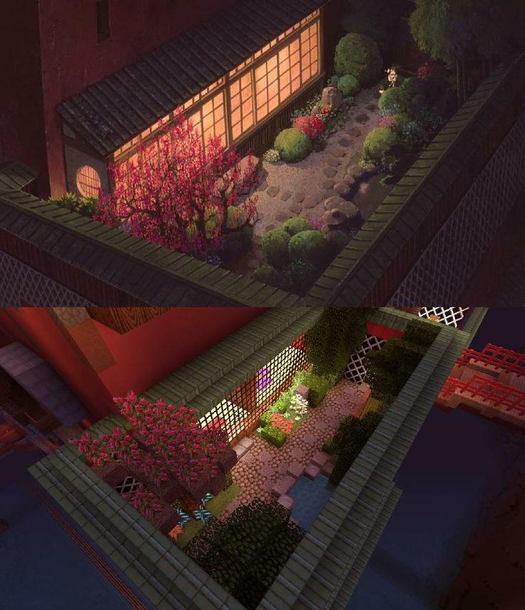 The Front Garden | Spirited Away in Minecraft