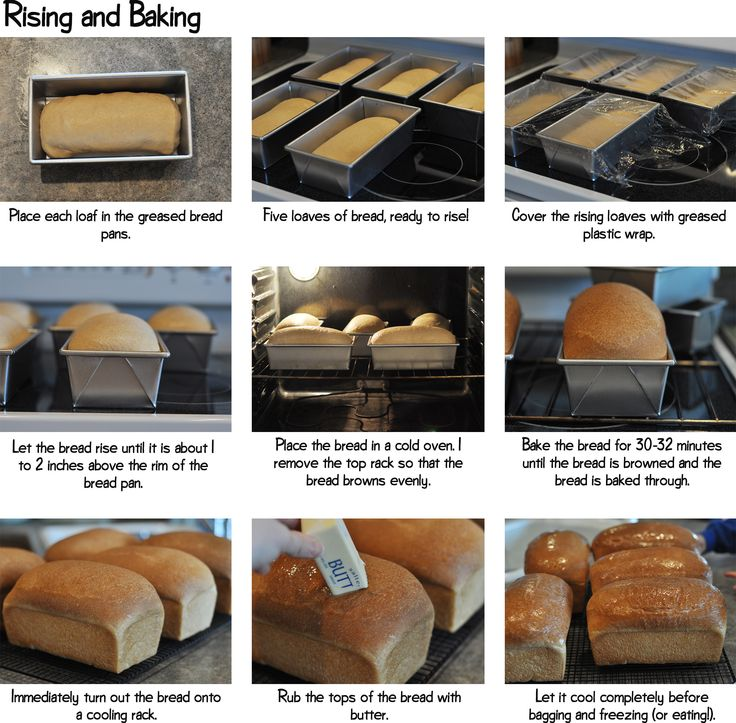 Rising and Baking step by step with the bosch mixer!
