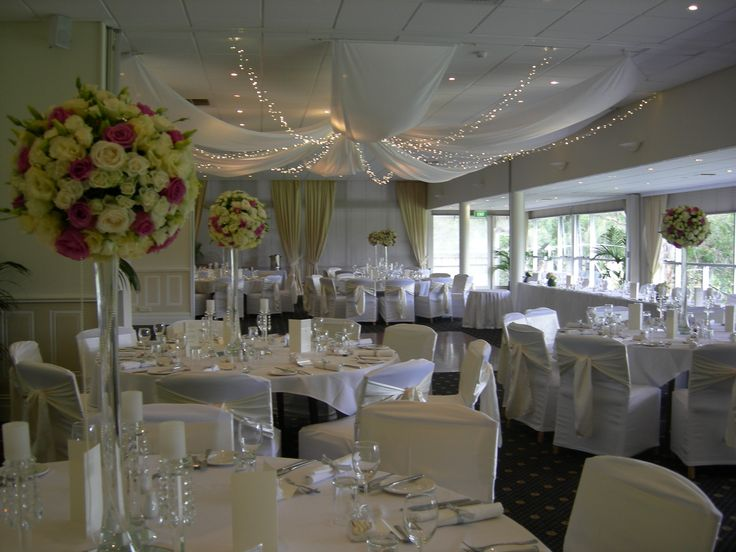 Looking for a great romantic look for your wedding reception.
