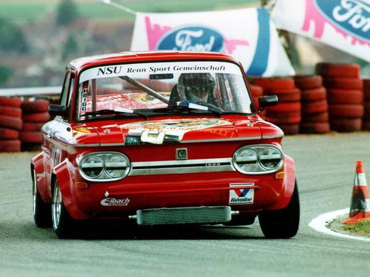 NSU Prinz TTS - looks like a fun car to drive!