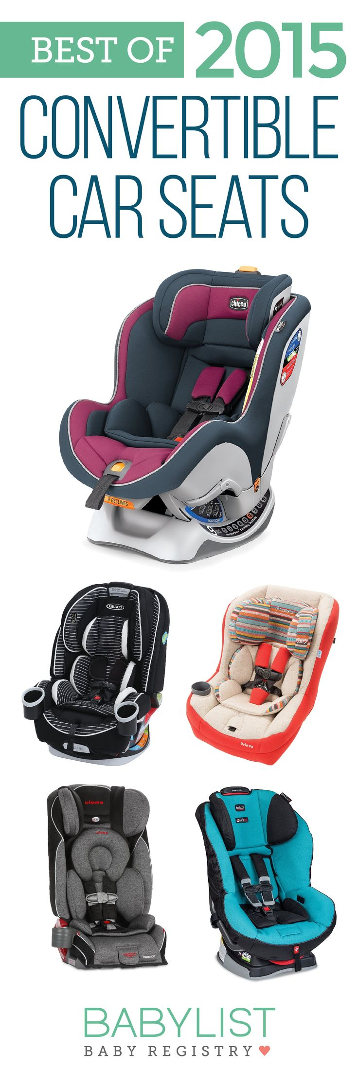 Need some advice to help you pick the best convertible car seat? Here are the 7 best convertible seats of 2015 - based on our own research + input from thousands of parents. There is no one must have car seat. Every family is different. Use this guide to help you figure out the best one for your family's needs and priorities.