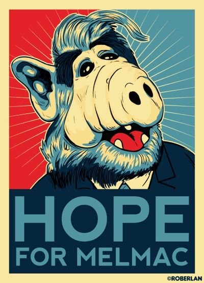 Obama Style Poster - Alf