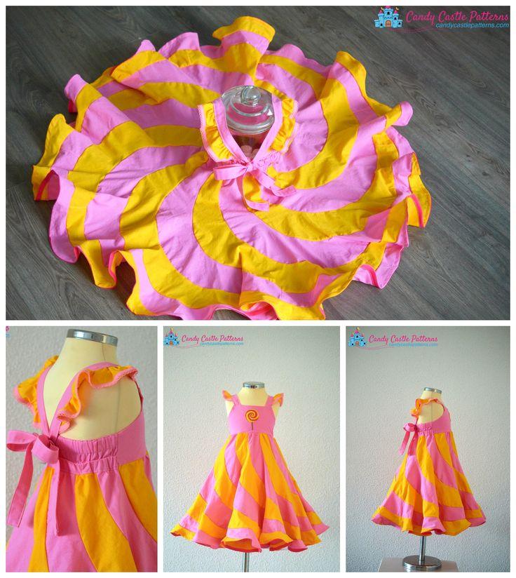 Pinafore Sewing Pattern, Newborn to 4 Years, Baby, Toddler Pattern ...