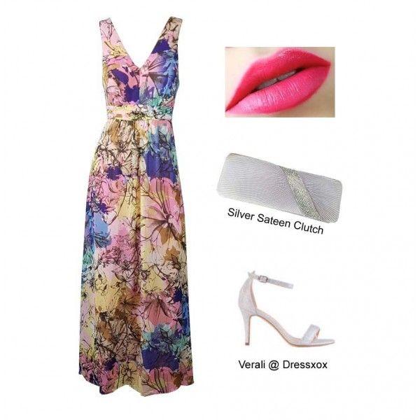 Wenie Maxi Party Dress