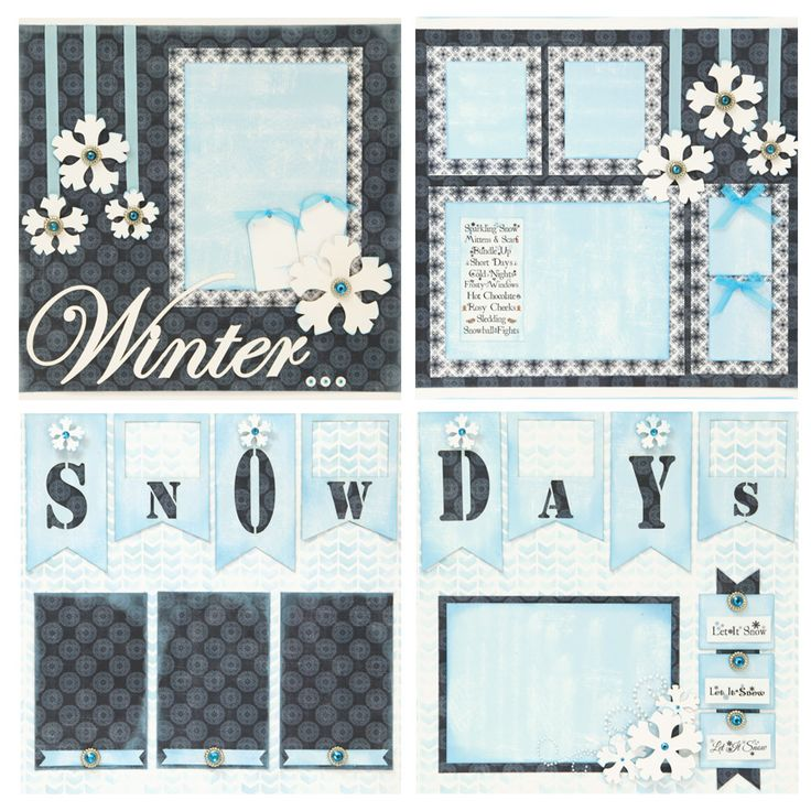 250 best Scrapbook ideas  Winter images on Pinterest