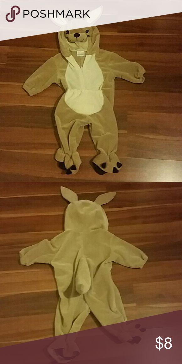Boys or girls Halloween kangaroo costume 3 to 6 mo Adorable Halloween kangaroo costume size 3 to 6 months boys or girls unisex miniwear Costumes Halloween