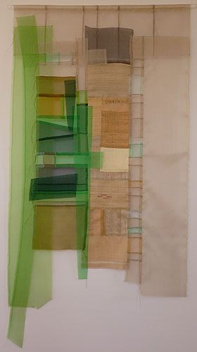 textile art by Molly Bullick. Online support covering all aspects of applying to art college. www.portfolio-oomph.com