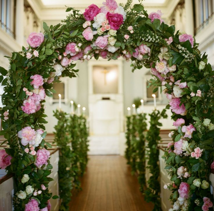 7 Gorgeous Wedding Altar Decorations That Aren T Any: 214 Best Church Weddings Images On Pinterest
