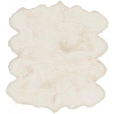 White Sheepskin Rug - Available in a Variety of Sizes from The Well Appointed House