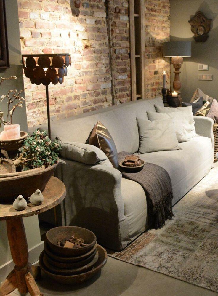 25 best ideas about grijze muren op pinterest muurverf kleuren en huiskamer - Grijze kleur donkerder ...
