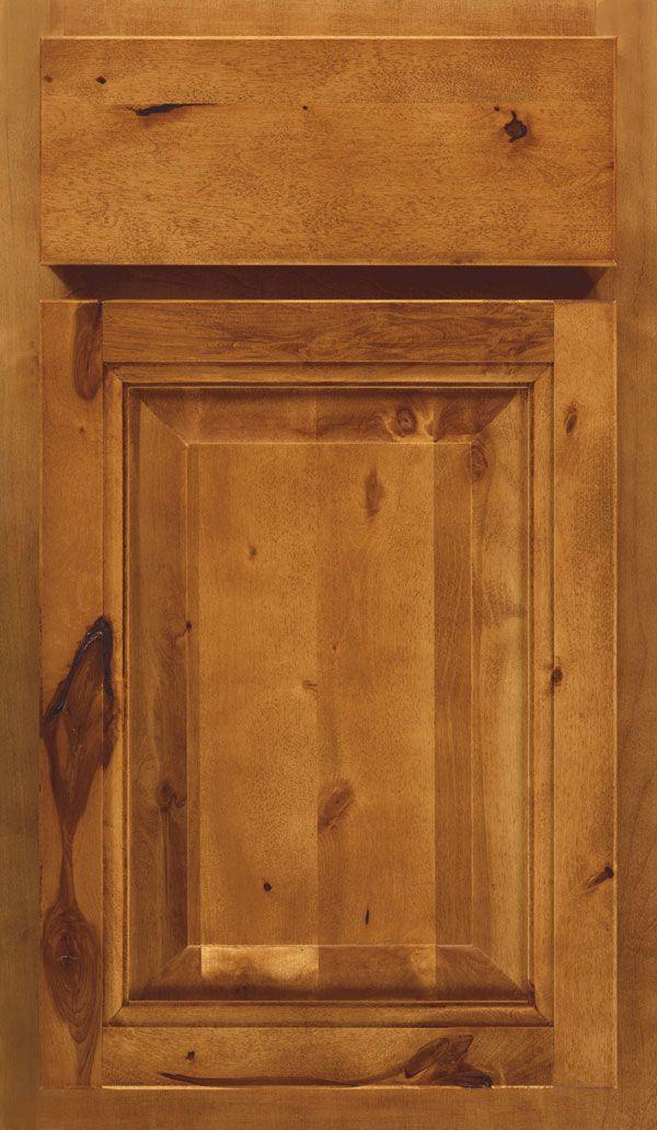 Aristokraft Cabinets Ayden Rustic Birch Autumn Finish