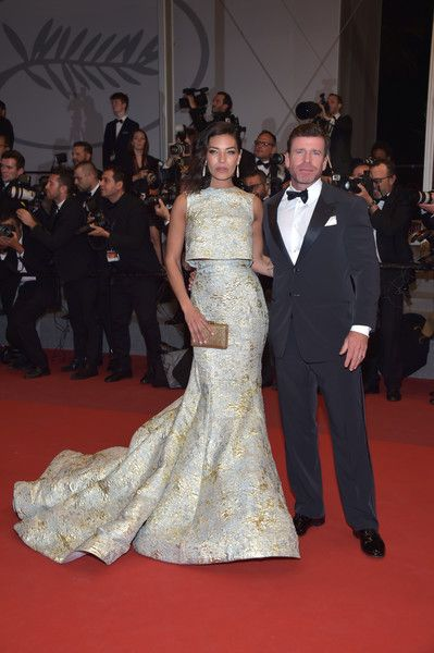 Taylor and Nicole Sheridan - The Most Stylish Celeb Couples on the Cannes Red Carpet - Photos