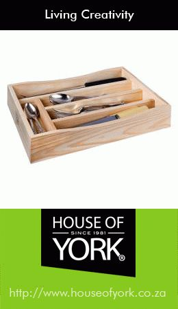 Neaten up your cutlery drawers while you're spring cleaning and invest in one of our cutlery trays made from quality pine. Buy them here: http://www.houseofyork.co.za/product/cutlery-tray #cutlerytrays #springcleaning #woodenhomeware