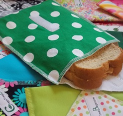 Green Time Bags, Reusable Sandwich Bags and Reusable Snack Bags by GreenTime Bags