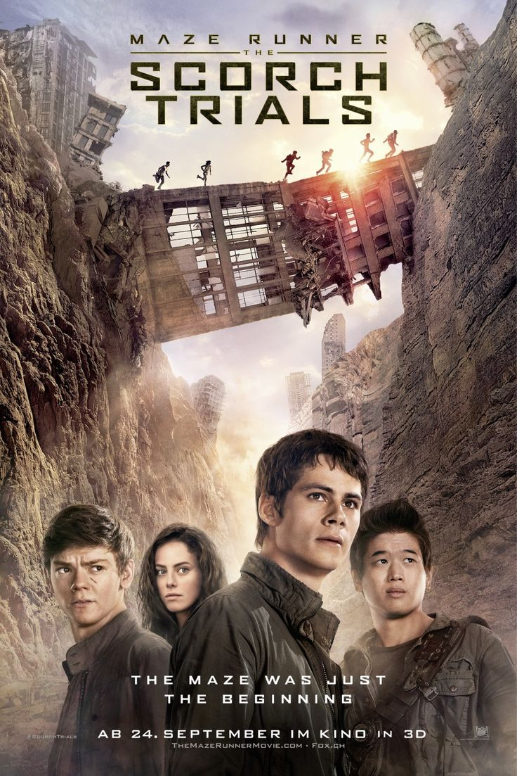 Return To The Main Poster Page For Maze Runner: The Scorch Trials