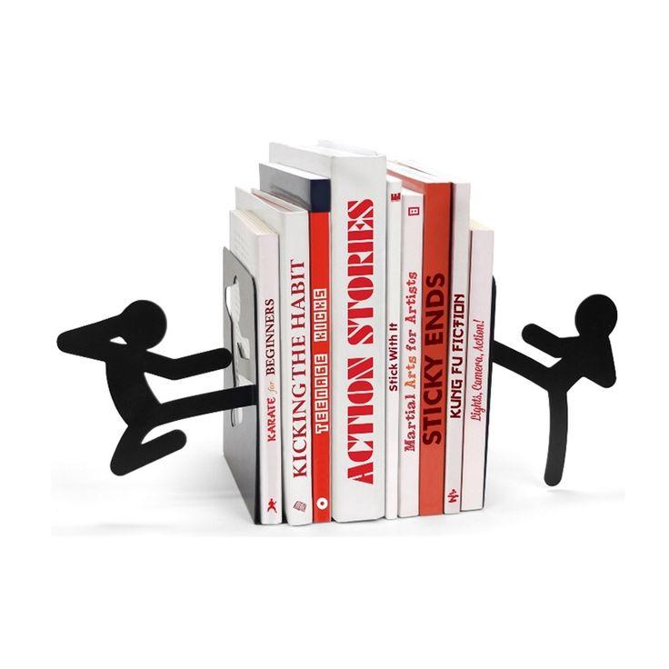 Le stickmen classique! Vous allez avoir besoin de plus de quelques livres et/ou DVD pour maîtriser l'art du Kung Fu, mais quoi de mieux, d'ici là, que de pouvoir les tenir entre bonnes mains...Haiiiiya Sayonara!