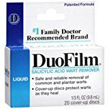 DuoFilm Wart Remover Liquid 0.33 oz (Pack of 2) WLM   DuoFilm Wart Remover Liquid 0.33 oz (Pack of 2)  DuoFilm Wart Remover Liquid 0.33 oz (Pack of 2)   List Price: $  20.95 Price: $ 20.95   Share this page: