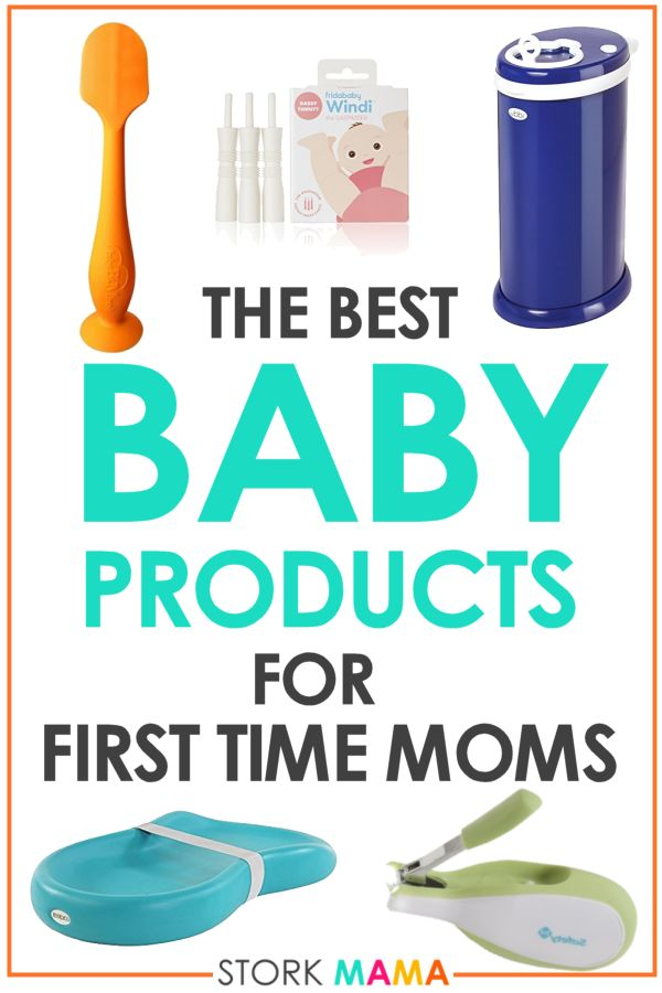 Best Baby Products for First Time Moms - Recommended by other moms. These must have baby items are life saving for new mamas. They will make life with a newborn baby so much easier. New Mom Picks 2018 for new parents. Stork Mama