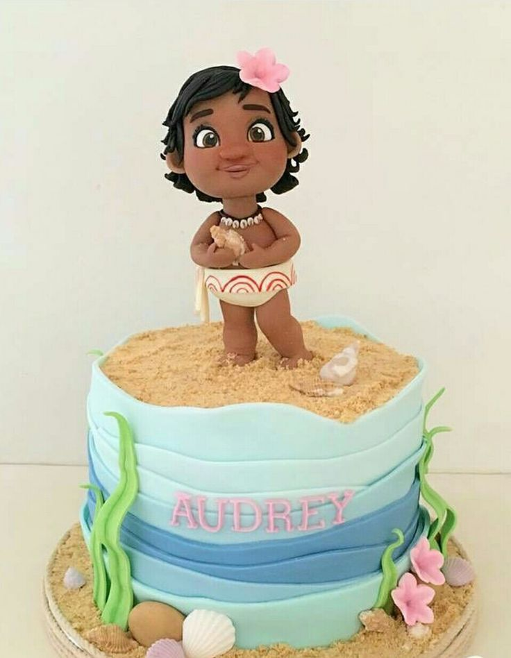 Moana cake birthday Disney