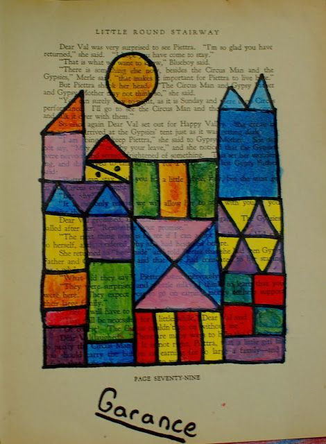 46 best images about Paul Klee: Art Project for Kids on Pinterest ...