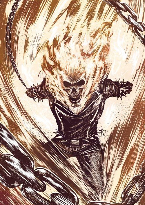 Ghost Rider - Serg Acuña