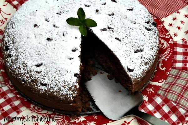 Mommy's Kitchen: Chocolate Zucchini Cake {Lightened - Up with Truvia Baking Blend}