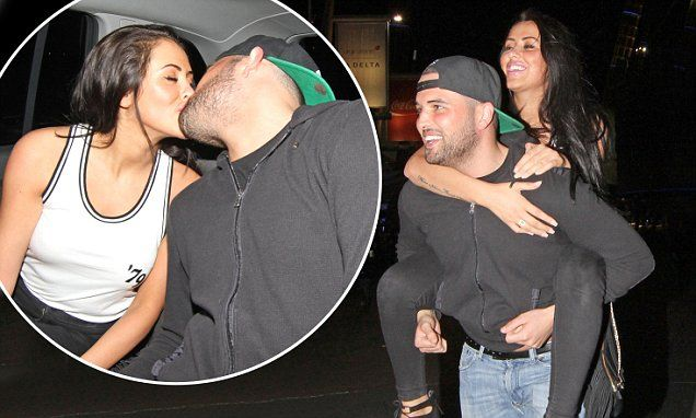 Ricky Rayment and Marnie Simpson on wild night out in London