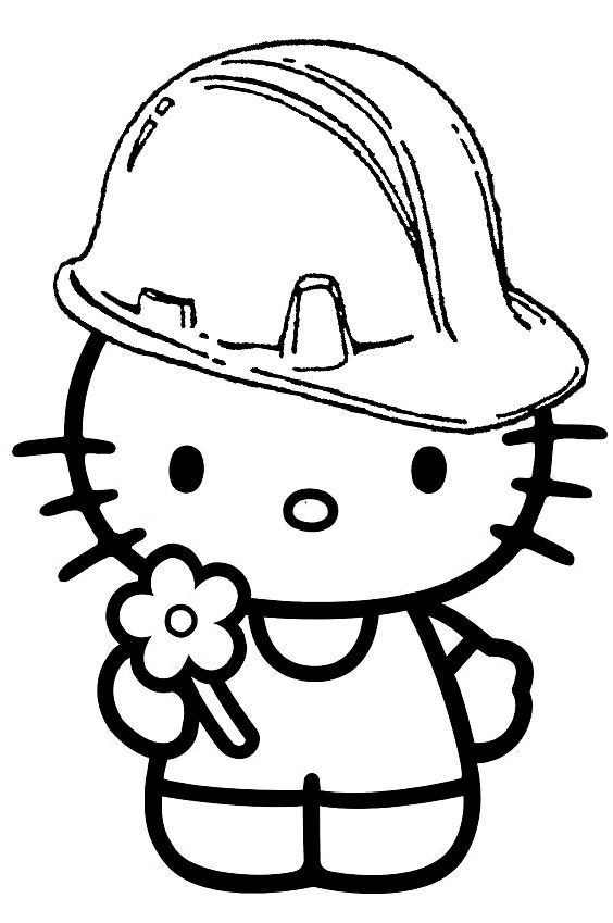 17 Best images about Coloring Pages {Hello Kitty} on ...