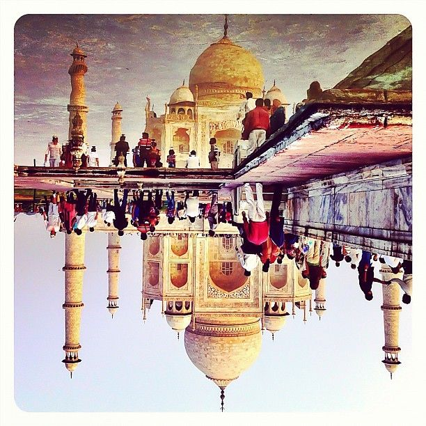 Upside down India