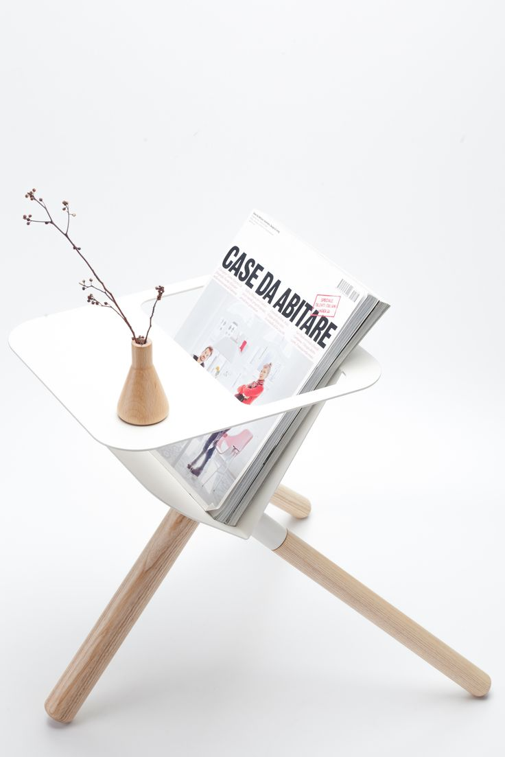 3 Legged Magazine Stand/Rack and Side Table now available at Urban Couture