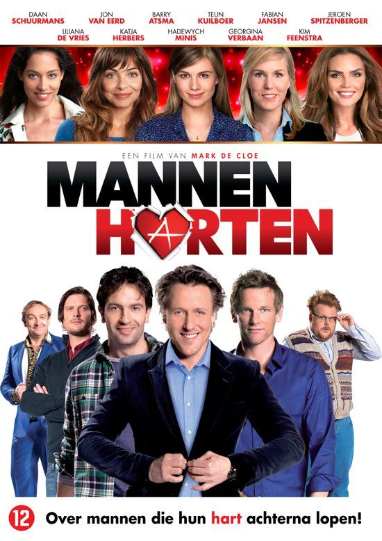 bol.com | Mannenharten, Barry Atsma, Daan Schuurmans & Jeroen Spitzenberger | Dvd...