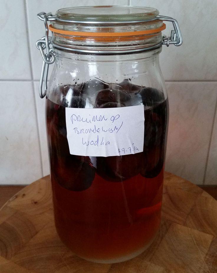 Pruimen op Brandewijn – Wodka