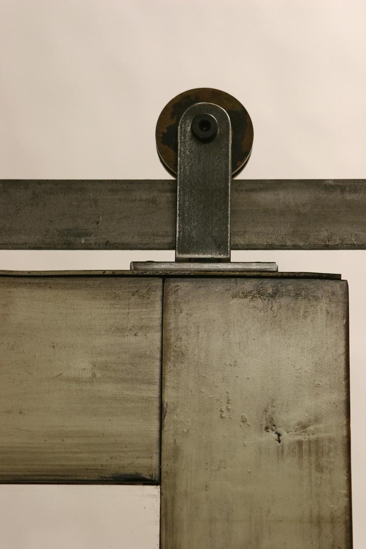 31 best images about barn doors on pinterest lorraine for Top mount barn door hardware