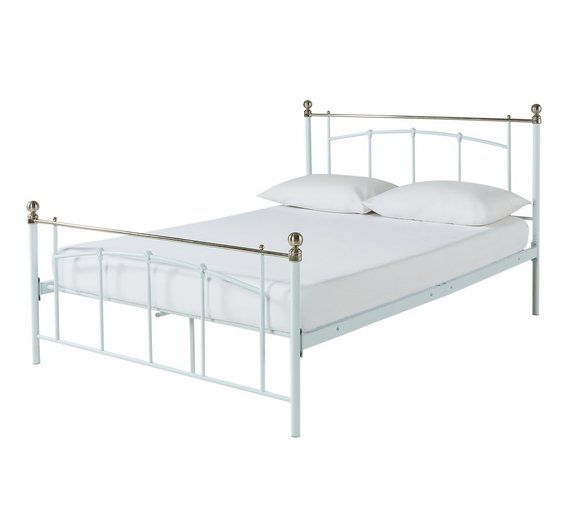 Buy Yani Small Double Bed Frame - White at Argos.co.uk, visit Argos.co.uk to shop online for Bed frames, Beds, Bedroom furniture, Home and garden