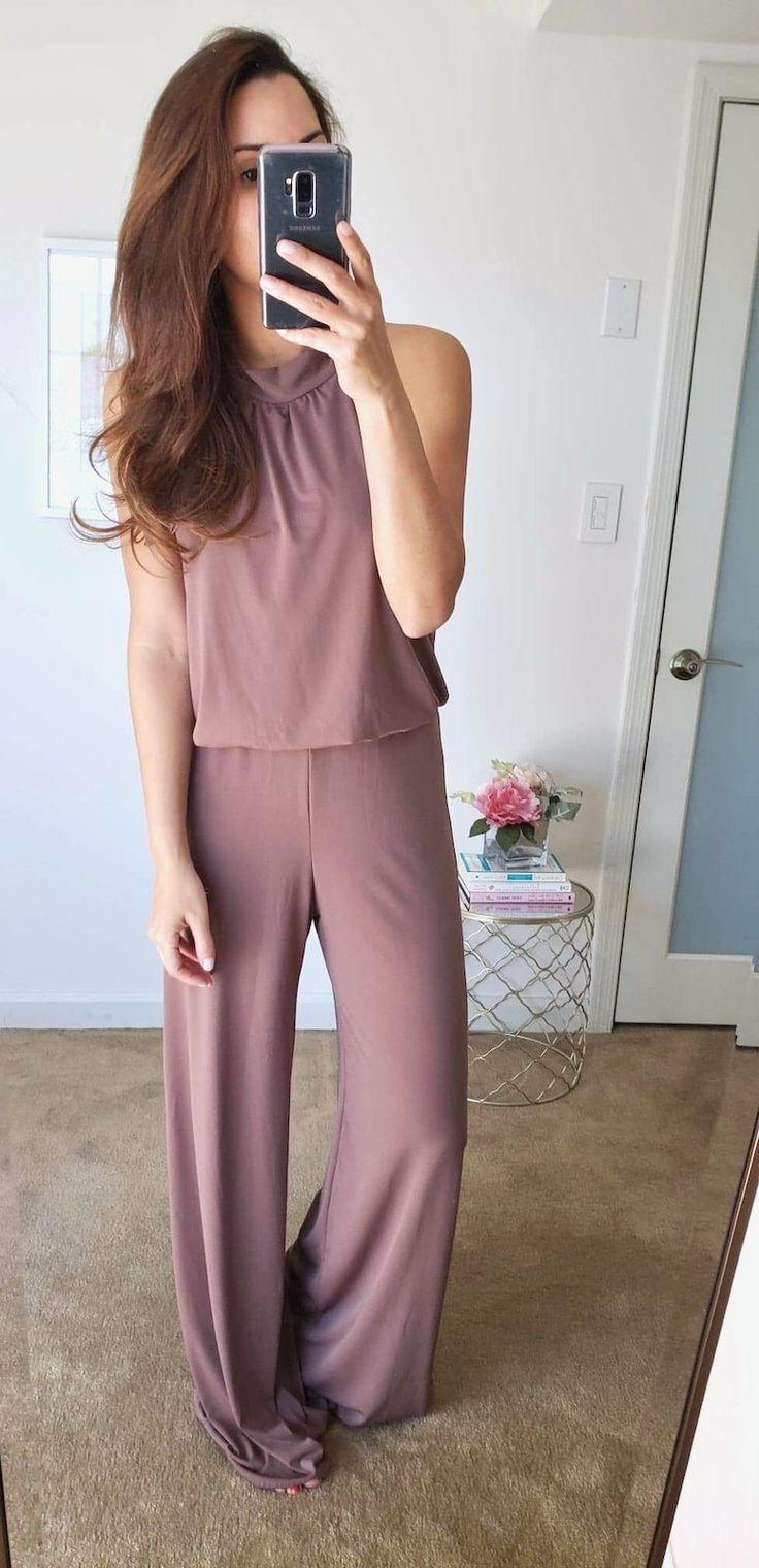 747e29dfc0 Love this cute halter jumpsuit from my amazon fashion spring haul 2019 try  on session.